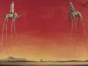 'The Elephants' by Salvador Dali